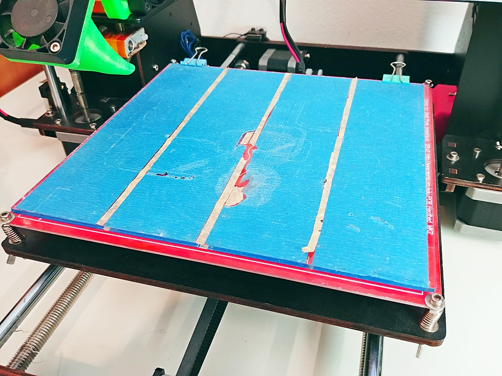 3D Drucker Druckbett