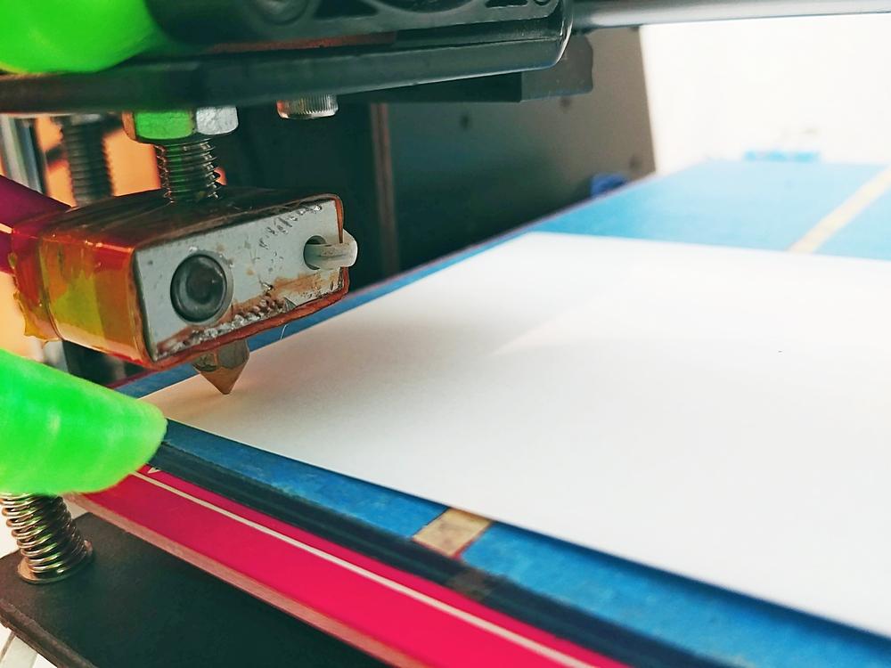 3D Druckbett kalibrierung
