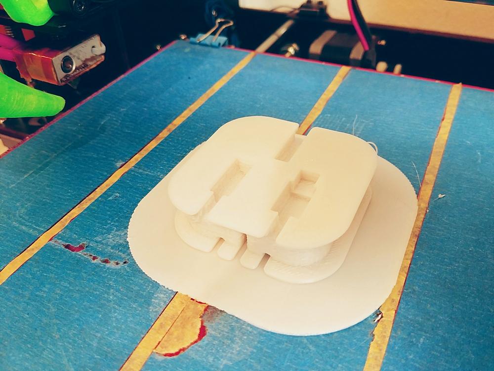 3D Druck ist fertig