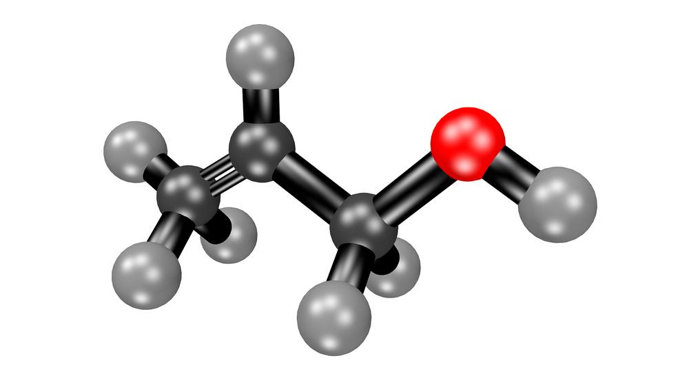 Aceton Molekül